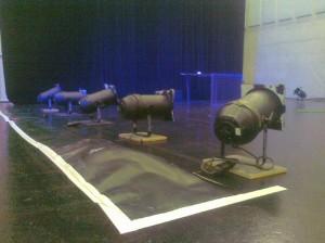 PAR-Raketen (Foto: Palais Kabelwerk)