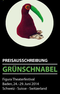 Grünschnabel - Aargauer Förderpreis für junges Figurentheater