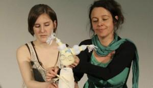 Teilnehmerinnen eines Workshops bei Karin Schäfer